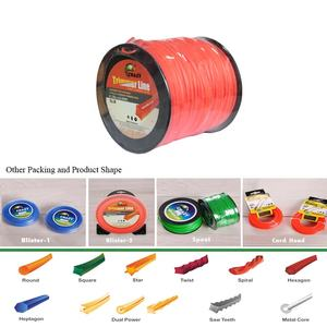 Hot Sale Wholesales 100% Best Unbreakable 5LB Nylon Strimmer Line Large Size Brush Cutter Trimmer Line Replacement Spool Packing
