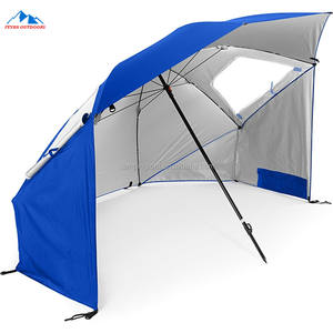 Portable Sun and Weather Shelter/Beach Umbrella Tent