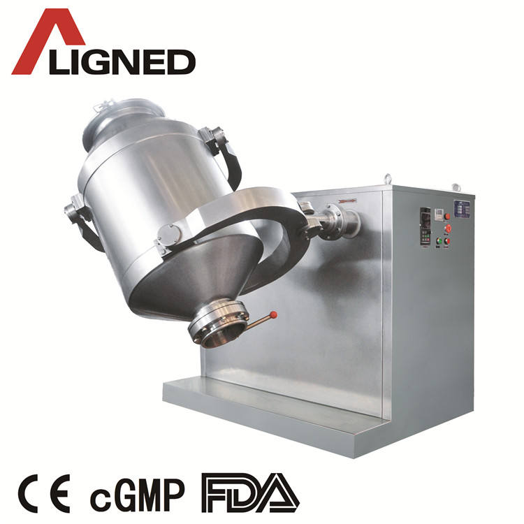 Pharma Machinery Protein Powder 3D Directional Rotating Mixer