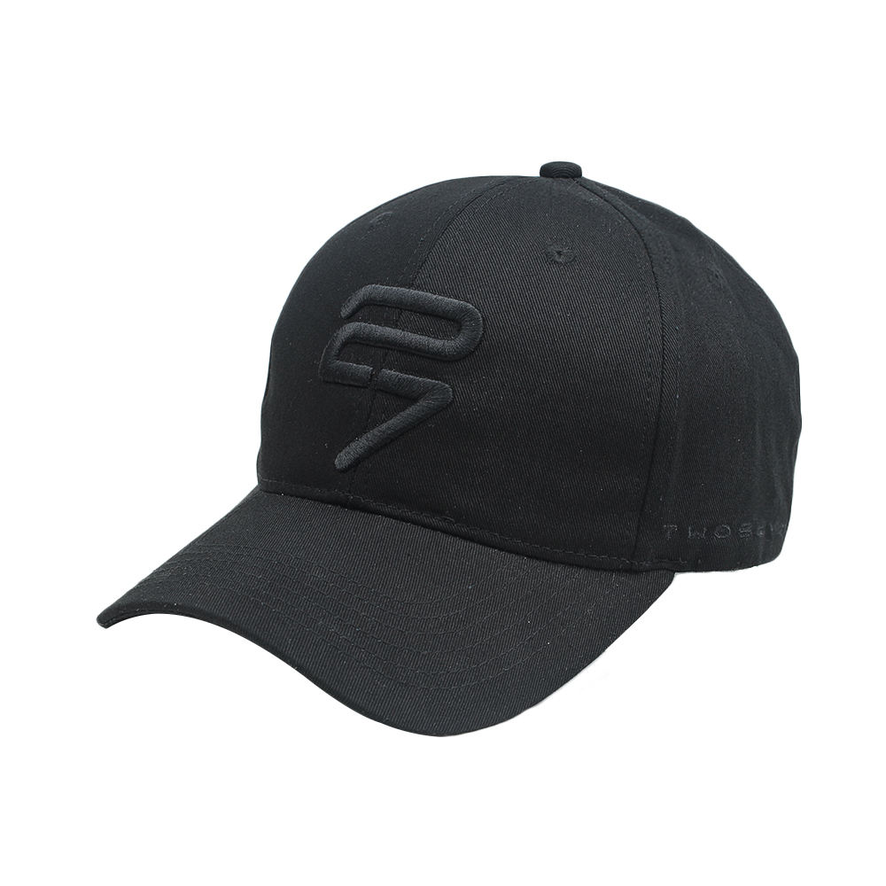 high quality logo custom black new blank plain cotton sport hats 6 panel baseball cap
