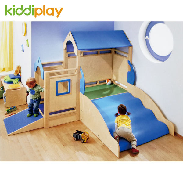 2019 Montessori School Furniture Kindergarten Indoor Kids Playground Equipment