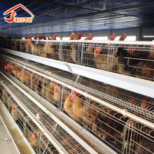 A type chicken battery cages 4 tier poultry layer cage farm house design for 10000 chickens