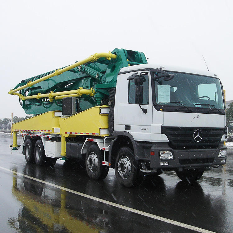 Hot Sale JH50-18 Concrete Pump Truck With Boom
