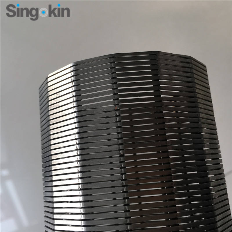 Welded Stainless Steel Water Well Screen Pipe/sand Control Wedge Wire Mesh Pipe