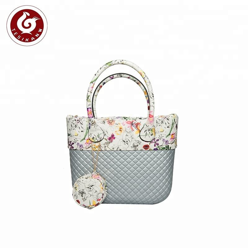 최신 design 숙 녀 감사해 요 wholesale beach bag EVA women handbags o bag