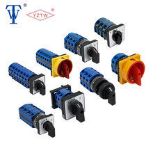 LW26S-63 0-1 4P S2 Durable using low price binary coded rotary switch