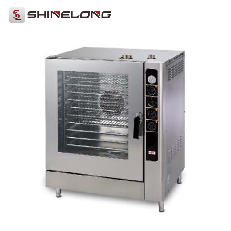 1470-2 China Brand Industrial Baking Equipment Electric 10-Tray Combi Oven