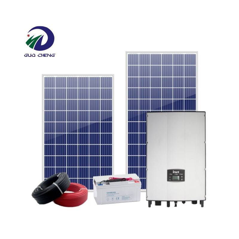 380v 10kw solar hybrid power generator 10kw storage with vrla battery 600kw solar power system