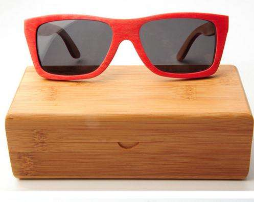 2019 High Quality Wooden Bamboo Packaging Boxes Hard Sunglasses Cases