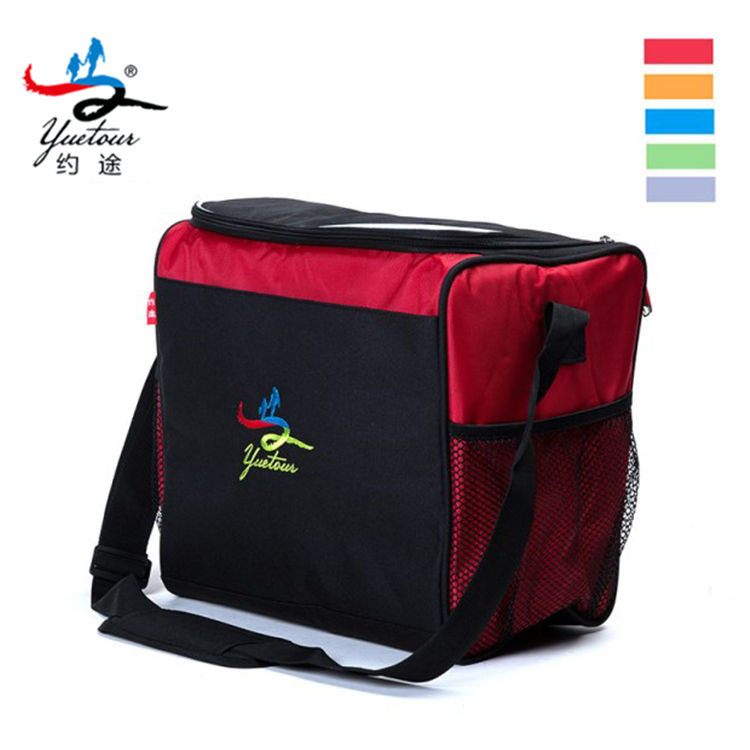 OEM 600D Waterproof Aluminum Foil Thermal Lunch Box Cooler Bag