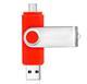 2019 Newest product Best Price Dual Port Android USB Drive OTG USB Flash Drive 8GB 16GB 32GB 64GB High Speed 2.0 OTG stick