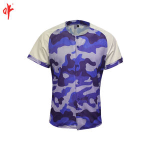 custom sublimated shirt korean baseball jerseys