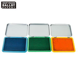 Non-Toxic Colour Plastic Stamp Ink Pad For Election