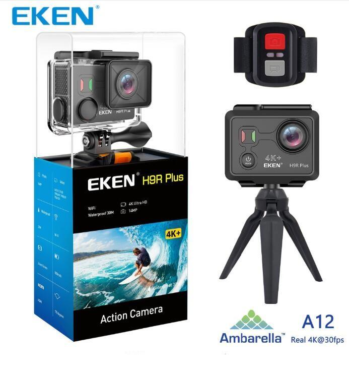 Original EKEN H9 H9R Plus wifi Action Camera Ambarella A12 Ultra HD Real 4K 30fps 14MP Photo for Panasonic waterproof sport Cam