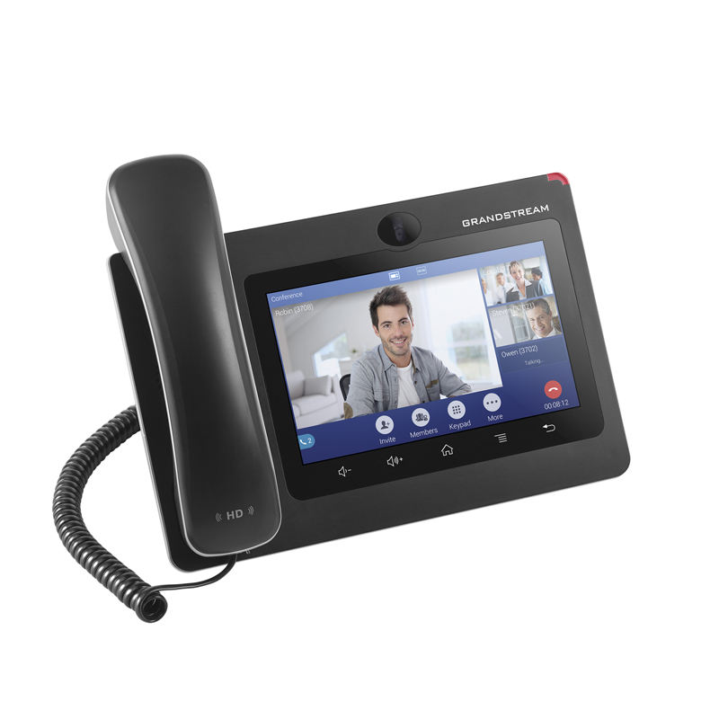 Ready to ship Stock Grandstream Video ip phone GXV3370 16 SIP LINE 7 inch touch screen dual-band WiFi BT