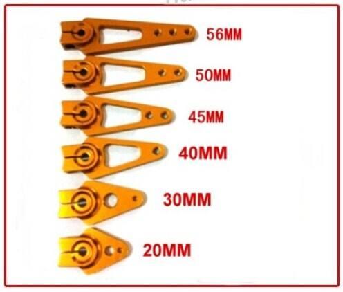 Servo métal bras 23/24/25t métal servo bras pour pour traxxas/futaba/hitec/jr/<span class=keywords><strong>towerpro</strong></span>/savox