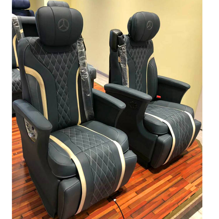 Quality motorhome adult massage seat adjustable leather electric van seats for mpv