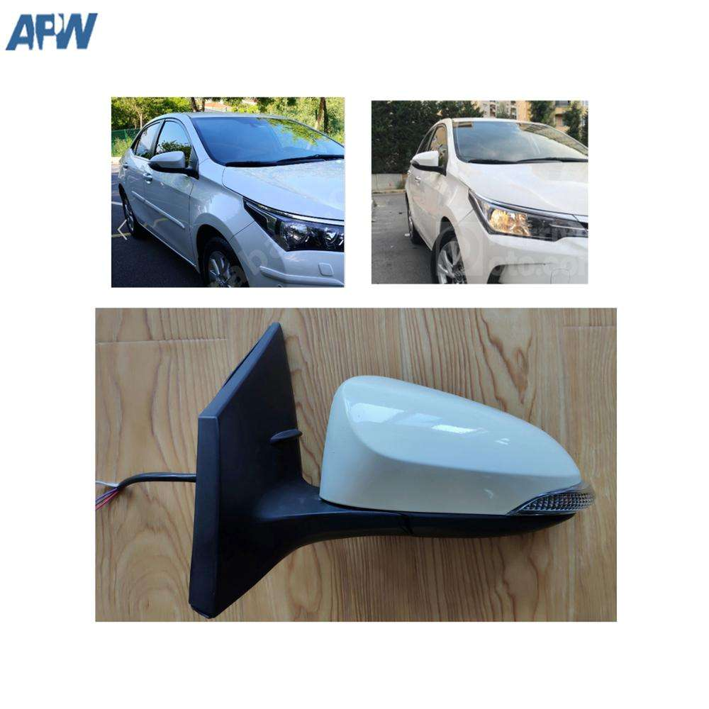 For Vauxhall Corsa E 2014-2017 Left side Aspheric Electric wing mirror glass