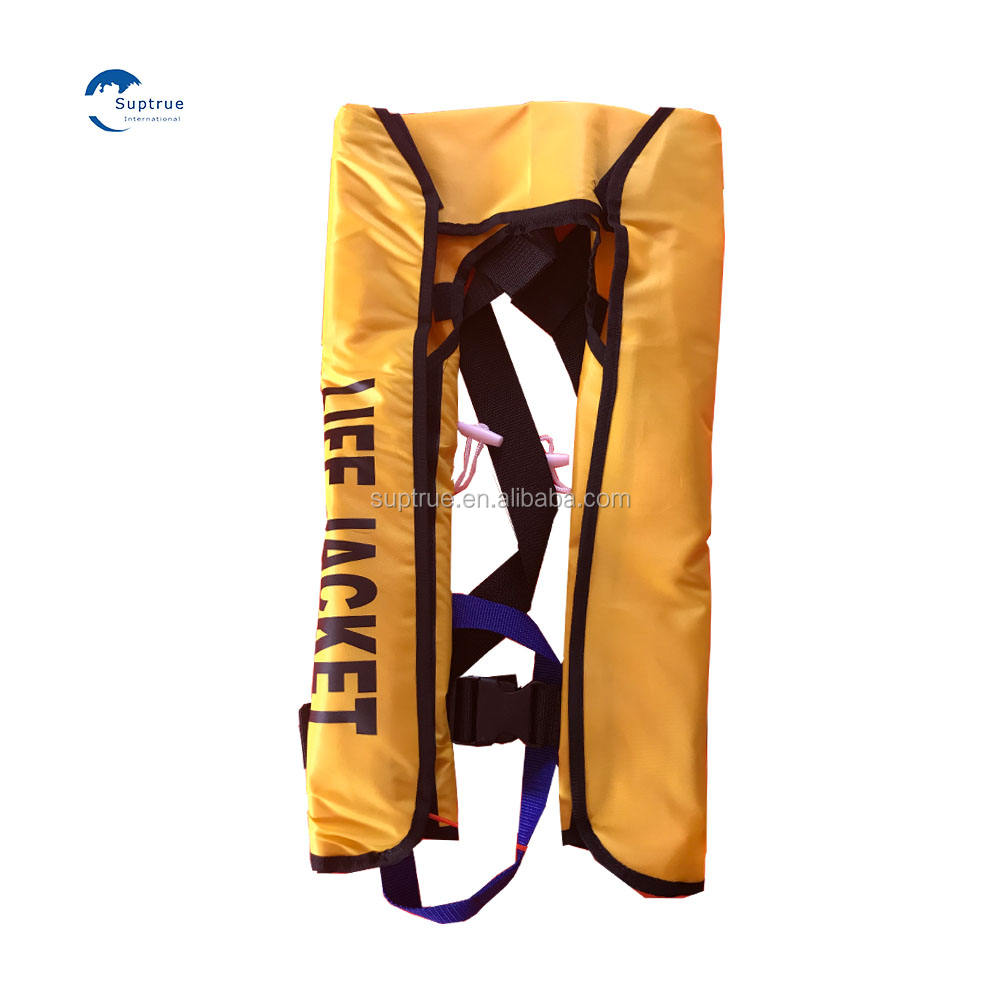 Marine life vest CE certification Solas approved inflatable crewsaver lifejacket