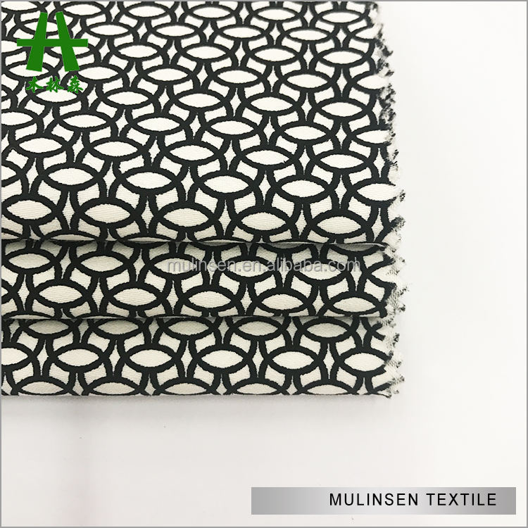 Mulinsen Textile 2018 Printed Cotton Bangkok Poplin Fabric With Spandex