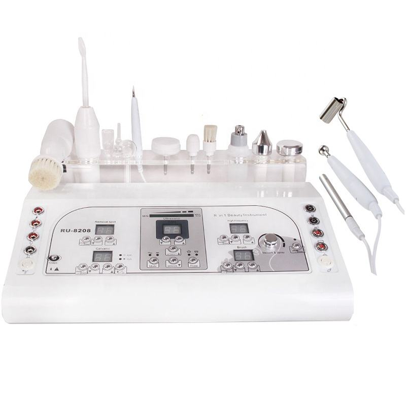 High frequency 8 options ultrasound used facial equipment for sale Cynthia RU 8208
