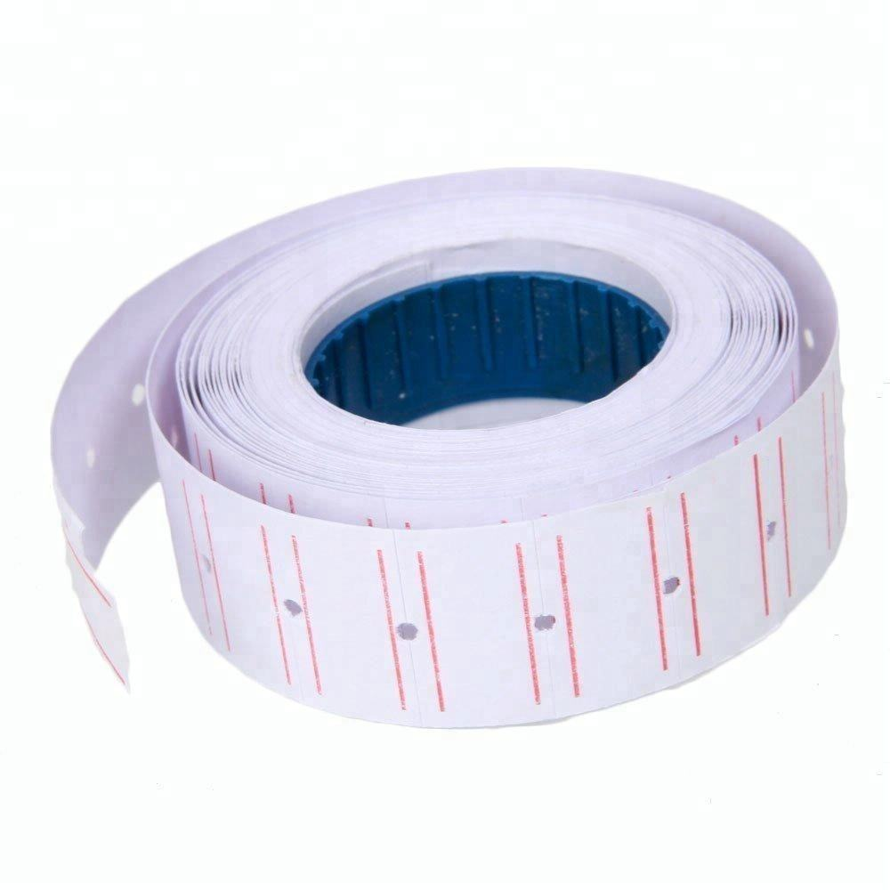 Single Line Price Gun Label Roll sticker For Price Labeler 21*12 mm