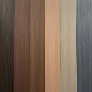 Wpc Solid Decking/Technological Wood Board /Outdoor Deck Floor Covering