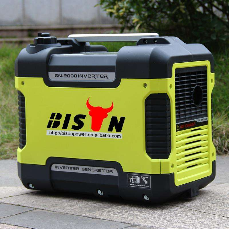 BISON China Gasoline Inverter Generator 2KW 3KW Noiseless