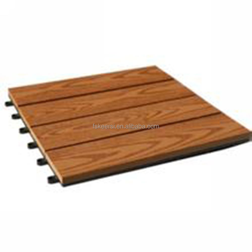 WPC DIY Tile Interlocking Decking Tiles