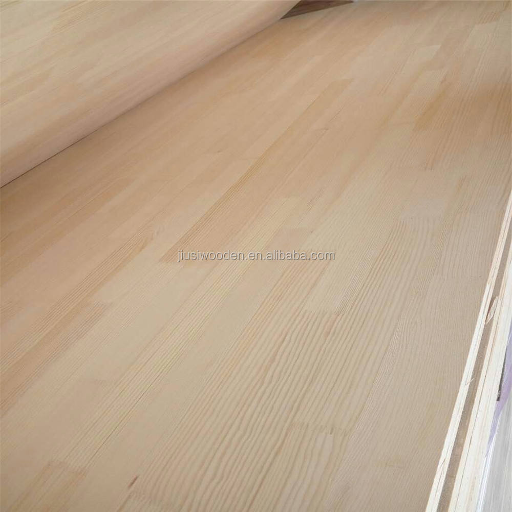 1220*2440mm pine wood finger joint lamination board in good quality for indoor use