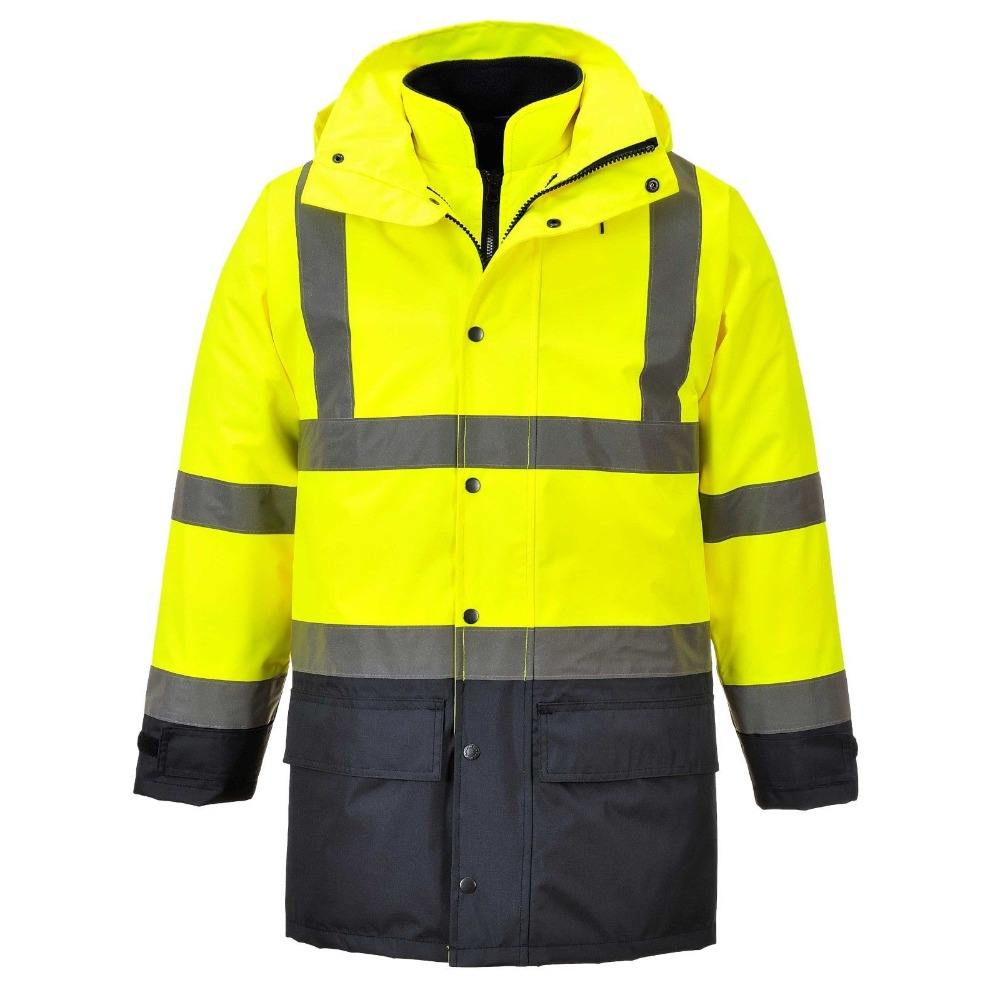 3 in 1 Winter warm high visibility safety jacket