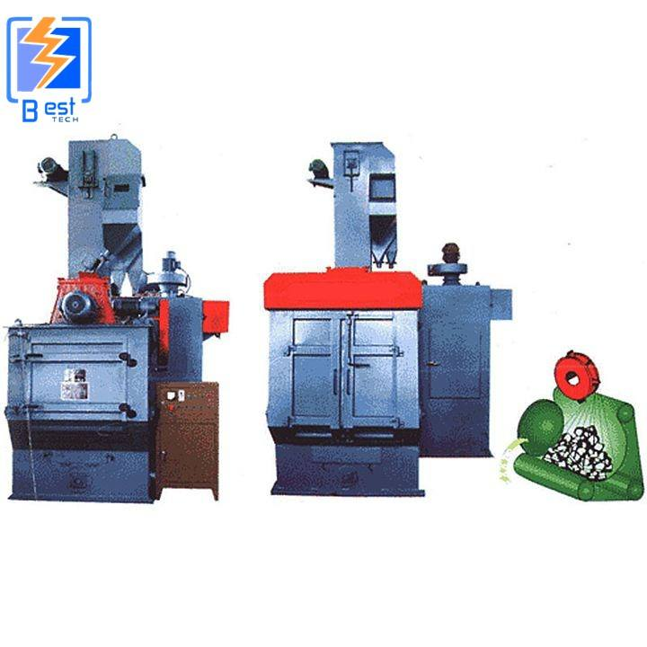 Q32 China leading Tumblast shot blast cleaning machine