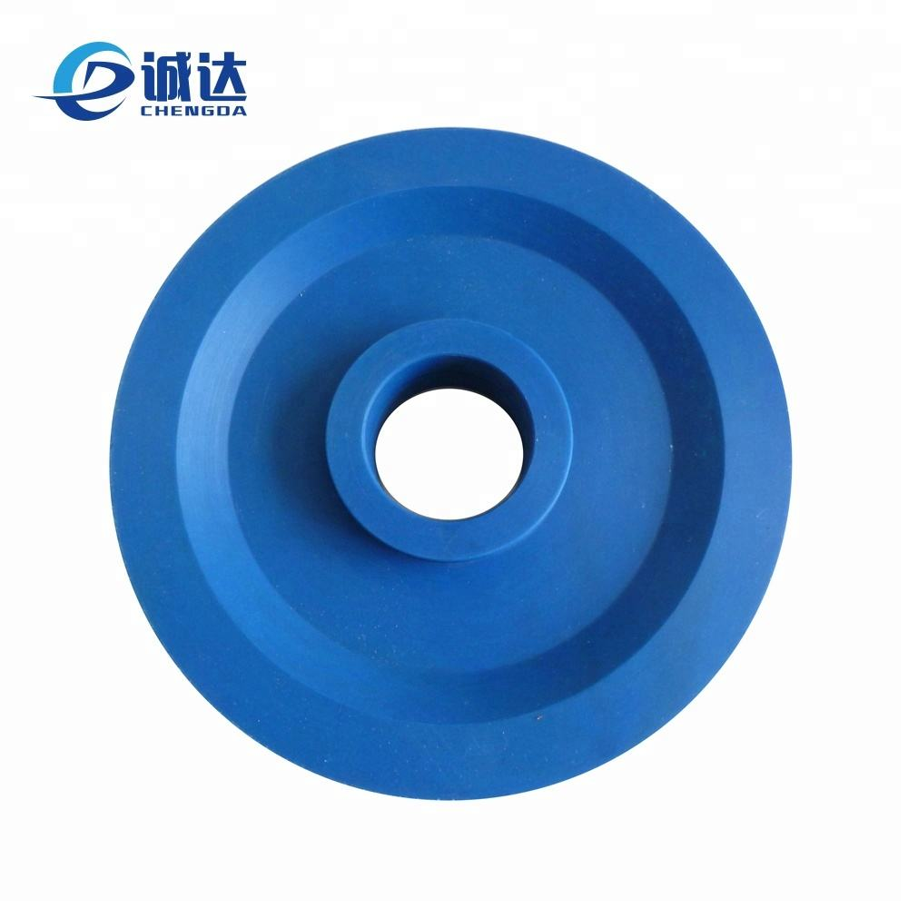 China factory nylon polyamide PA6 plastic pulley with bearings