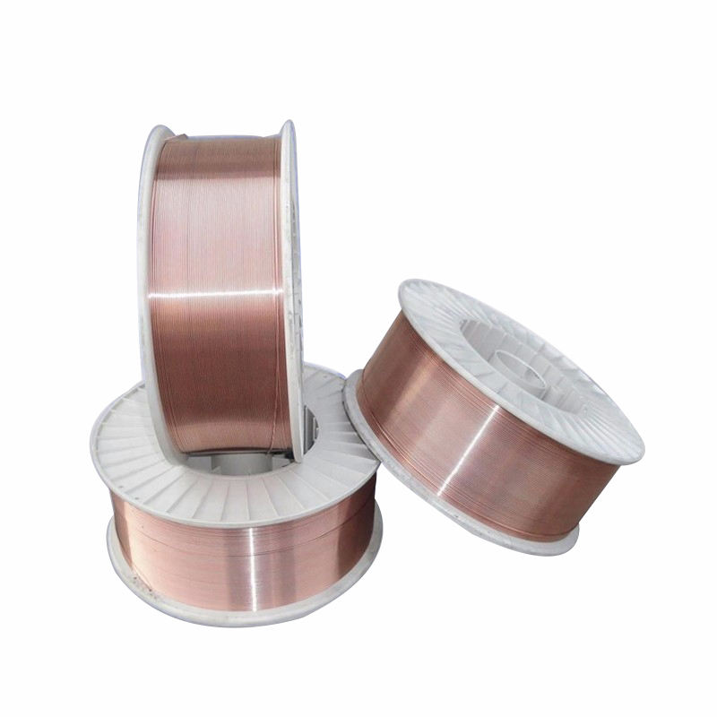 China Supplier 0.8mm 1.0mm 1.2mm Gas Protection Co2 ER70S-6 MIG Copper Welding Wire