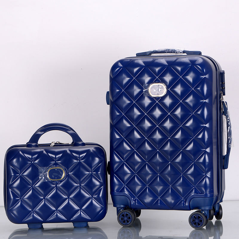 "4 pieces luggage set fashion travel luggage retro spinner abs suitcase koffers trolleys for trip 12"" 20"" 24"" 28"" inch"