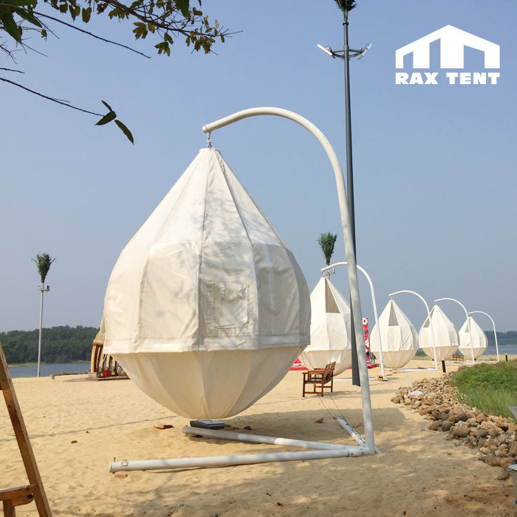 outdoor glamping tree tent coconut shape dome tent camping tent at low factory price