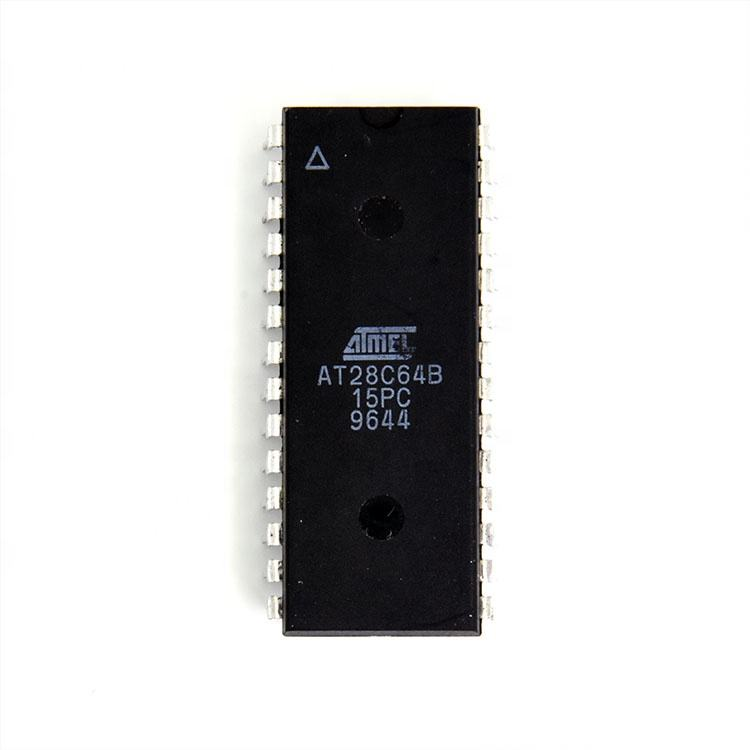 AT28C64B-15PC MEMORIA EEPROM IC 64 KB 8K x 8 28 parallelo 150 ns PDIP