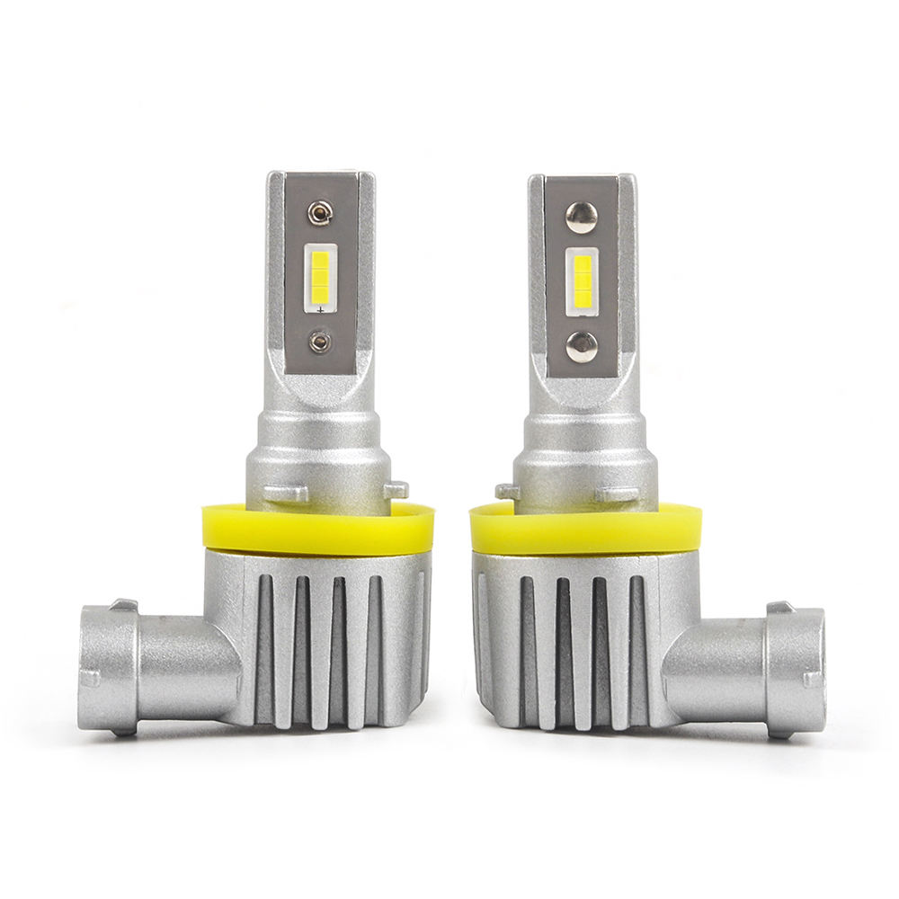 h4 h11 psx24 led lamp 360 light led auto headlight