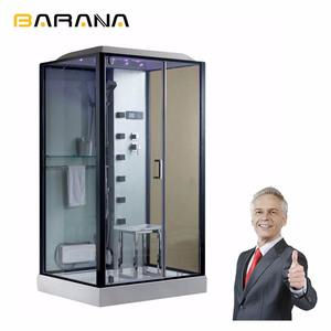 Cheap wholesale bathroom steam shower with accessories simple modular shower room cabin