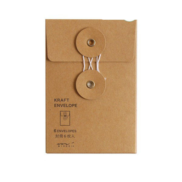 C5 marrom kraft envelopes de papel a4 mini handmade kraft envelope