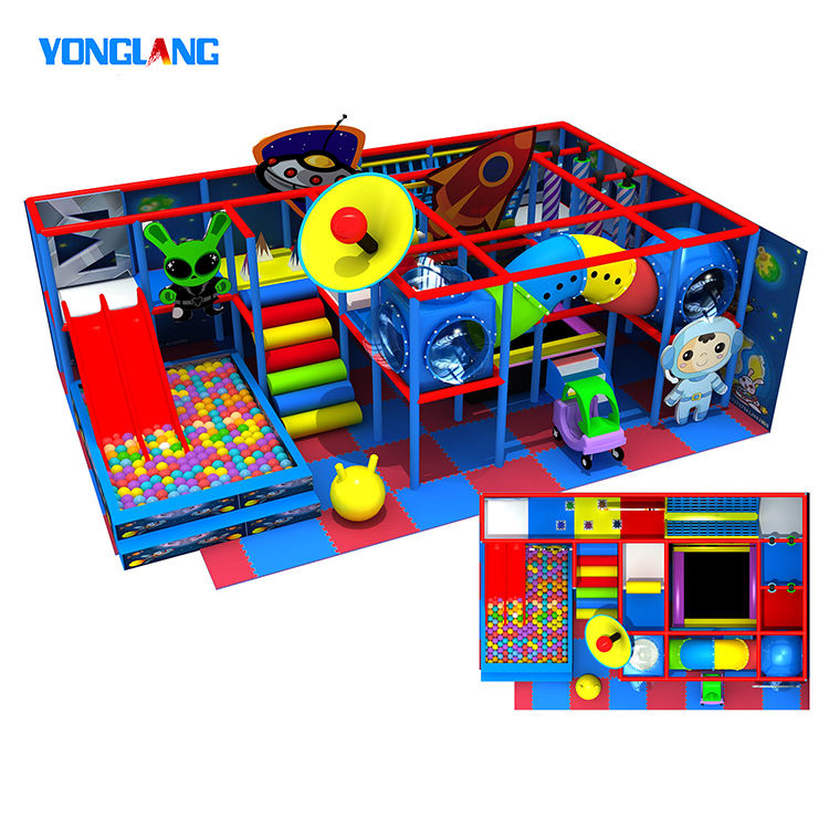 Children Play Game Equipment Kids Indoor Playground For Exercise