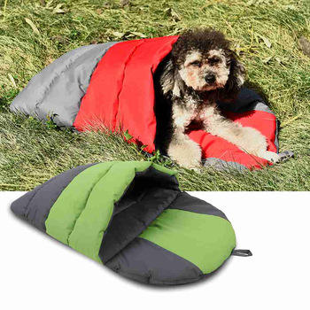 Amazon Hot Style Custom outdoor pet bed waterproof dog sleeping bag