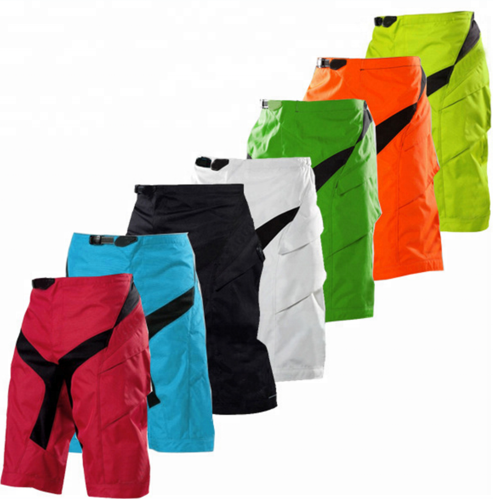 Colorful blank MX racing wear motocross shorts for competition games