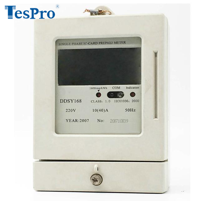 Single Phase Two Wire Prepayment Smart Electricity Meter DDSY168 (with Anti-Tampering as an option)
