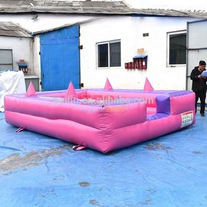 ZZPL Outdoor of Indoor Games kids Play Ball Pit Mini Opblaasbare Bal Zwembad voor Roze Prinses