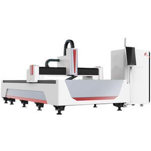 Low Price Open Model Iron Metal Sheet Fiber Laser Cutting Machine