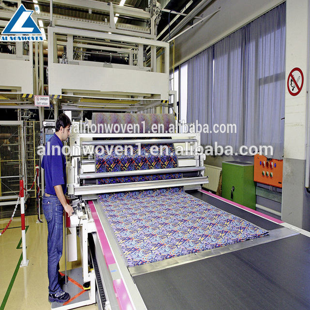High Quality Carpet/Geotextiles Making Machine/PET Nonwoven Needle Punched Machine