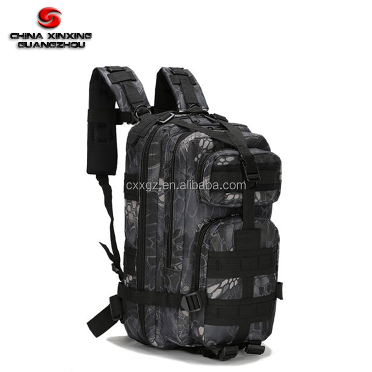 Camouflage Good Quality 3P attack tactical hiking Rucksack Backpack