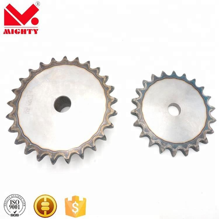High quality stainless steel spur gear roller/carrier roller/sprocket/track chain