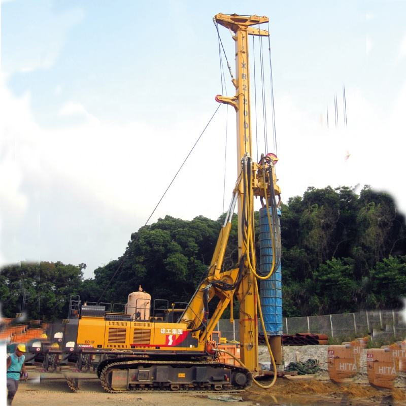 factory of manufacturing 220 DTH hammer drilling rig, air compressor hard rock drilling